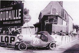 24 Heures Du Mans 1927  -   Salmson Grand Sport  -  Pilotes: Georges Casse/André Rousseau  -  15x10 PHOTO - Le Mans