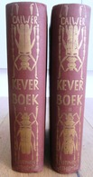 RARE ZUTPHEN 1930 CALWER KEVER BOEK - 2 PARTS COMPLETE - 50 LITHO PLATES - DUTCH LANGUAGE - 1330 PAGES - BEETLE SCARABEE - Books, Magazines, Comics