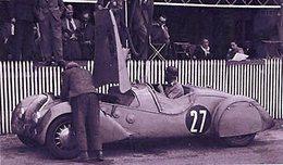 24 Heures Du Mans 1937  -  Peugeot Darl'Mat DS  -  Pilote: Daniel Porthault   -  15x10 PHOTO - Le Mans