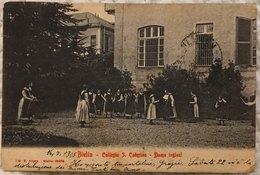 Biella Collegio S. Caterina Dame Inglesi - Viaggiata 1905 - Biella