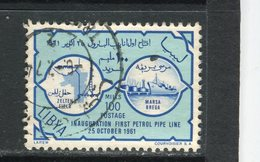 LIBYE - Y&T N° 200° - Premier Pipe-line Zeiten-Marsa Brega - Libya