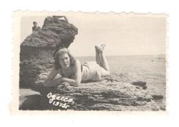 03620 Russia Odessa Black Sea Lady Beach Swimsuit - Persone Anonimi