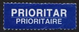 2010's ROMANIA - Express - Priority  --- USED Label Vignette - Marcophilie - EMA (Empreintes Machines)