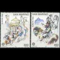 SAN MARINO 1982 - Scott# 1019-20 Europa-Treaty Set Of 2 MNH - Unused Stamps