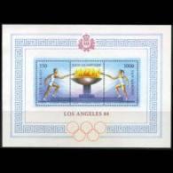 SAN MARINO 1984 - Scott# 1068 S/S Olympics MNH - Unused Stamps