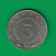 5  DINAR  1978  (PRIX FIXE) (CG16) - Yougoslavie