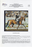 Paraguay Block Dressur Mit Autogramm / Autograph Reiner Klimke - Paraguay
