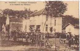 Saigon - Le Temple Protestant Et La Maison Du Pasteur - Ho Chi Minh - HP1302 - Vietnam