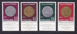 MAROC N°  578 à  581 ** MNH Neufs Sans Charnière, TB (D7052) Anciennes Monnaies Nationnales - Morocco (1956-...)