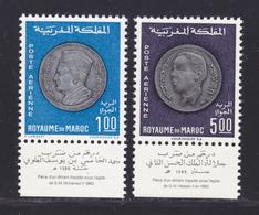 MAROC AERIENS N°  117 &  118 ** MNH Neufs Sans Charnière, TB (D7054) Monnaies Nationnales - Morocco (1956-...)