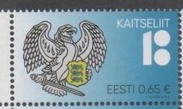 ESTONIA , 2018, MNH, COAT OF ARMS, BIRDS, 1v - Stamps