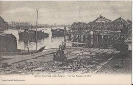 Arroio Cau-Ong-Lanh, Saigon - Vue Des Jouques De Mer - Ho Chi Minh - HP1309 - Vietnam