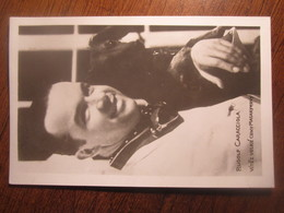 RUDOLF CARACCIOLA 1937 CZECHOSLOVAKIA COVER  POSTCARD - Cartas