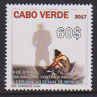 CAPE VERDE, 2017, DAY AGAINST CHILD ABUSE AND SEXUAL EXPLOITATION, 1v - Stamps