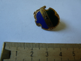 Insigne Décoration Broche Breloque Ancienne émaillée C A S 2 Voir Haut Diff - Badges & Ribbons