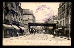 14 - CAEN - RUE DE VAUCELLES - CACHET HOSPICE MIXTE DE CAEN - Caen