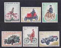 MALI N°  111 à 114, AERIENS N° 60 & 61 ** MNH Neufs Sans Charnière, TB (D7064) Bicyclettes Et Automobiles Anciennes - Mali (1959-...)