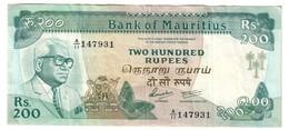 Mauritius 200 Rupees 1985 - Mauritius