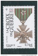 FRANCE LA CROIX DE GUERRE 1915 NEUF** 2015 YT 4942 -                                          Tda264 - Unused Stamps