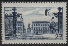 FR 1101 - FRANCE N° 822 Neuf** 1er Choix Place Stanislas Nancy - Ungebraucht