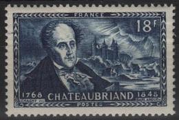 FR 1098 - FRANCE N° 816 Neuf** 1er Choix Chateaubriand - France