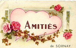 SORNAY   Amitiés 1947 - Frankreich