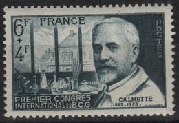 FRANCE N° 814 Neuf** 1er Choix B. Calmette - Neufs