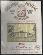 063-CHATEAU Dauzac De 1985 -- - Bordeaux