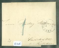 HANDGESCHREVEN BRIEF Uit 1849 Gelopen Van SCHLESWIG HOLSTEIN Naar RENDSBURG  (11.106) - Danimarca