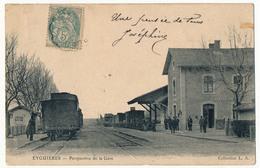 CPA - EYGUIÈRES (B Du R) - Perspective De La Gare - Other Municipalities
