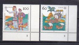 BRD  1608 - 1609 ** Postfrisch   Formnummer - Unused Stamps