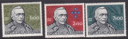Portugal SG 1385-1388 1970 Birth Centenary Of Marshal Carmona, Mint Never Hinged - Unused Stamps