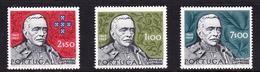 Portugal SG 1386 1970 Birth Centenary Of Carmona, Mint Set No Gum - Unused Stamps