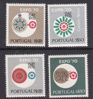 Portugal SG 1391-1394 1970 Expo, Mint Never Hinged - Unused Stamps