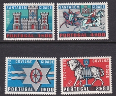 Portugal SG 1395-1398 1970 Covilha Centenaries, Mint Never Hinged - Unused Stamps