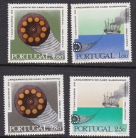 Portugal SG 1399-1402 1970 Centenary Of Submarine Cable, Mint Never Hinged, Light Toning - Unused Stamps