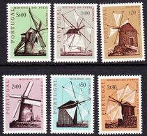 Portugal SG 1407-1412 1971 Windmills, Mint Never Hinged - Unused Stamps