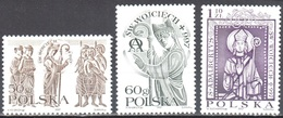 Poland 1997 - St. Albert - Mi 3642-44 - MNH(**) - 1944-.... Republik