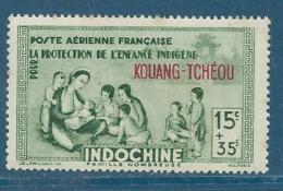 KOUANG TCHEOU   Aérien  -     - Yvert N°  1 **  - Bce 12121 - Kouang-Tcheou (1906-1945)