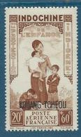 KOUANG TCHEOU   Aérien  -     - Yvert N°  2 **  - Bce 12122 - Unused Stamps