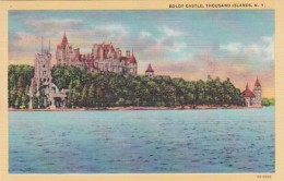 New York Thousand Islands Boldt Castle Curteich