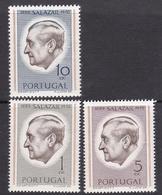 Portugal SG 1422-1424 1971 President Salazar Commemoration, Mint Never Hinged - Unused Stamps
