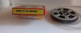 "Bobine De Film 8mm  Walt Disney   ""Mickey Et Les Fantomes - 35mm -16mm - 9,5+8+S8mm Film Rolls"