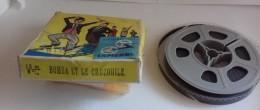 Bobine De Film 8mm  Bomba Et Le Crocodile - 35mm -16mm - 9,5+8+S8mm Film Rolls