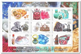 Mongolië 2017, Postfris MNH, Traditional Nine Treasures - Mongolië