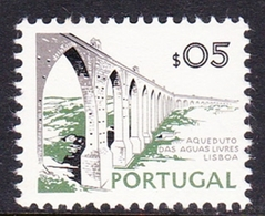 Portugal SG 1442 1972 Buildings And Views, 5c Aquas Livres Aqueduct, Mint Never Hinged - Unused Stamps