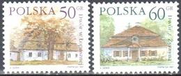 Poland 1997 Polish Country Estates - Mi 3645-46 - MNH(**) - 1944-.... République