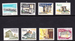 Portugal SG 1442-1461 1974 Buildings And Views, 8 Values, Mint Never Hinged - Unused Stamps