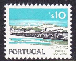 Portugal SG 1443 1974 Buildings And Views, 10c Lima Bridge, Mint Never Hinged - Nuevos