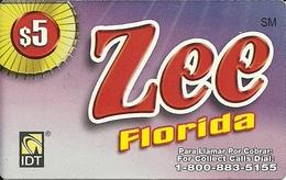 IDT: Zee Florida - Vereinigte Staaten